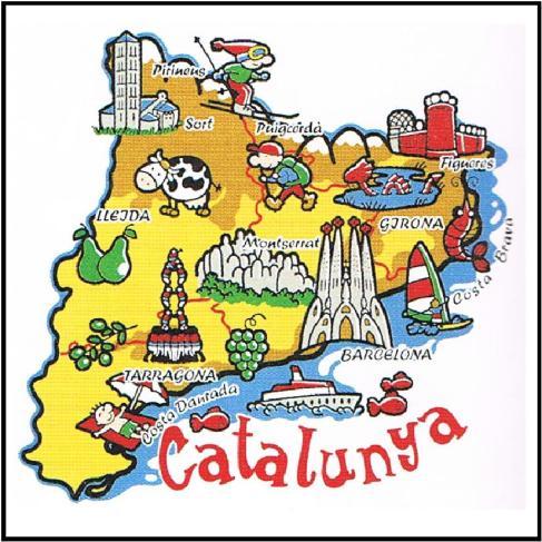 Resultado de imagem para cataluña romanos mapa